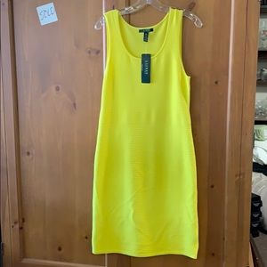 Ralph Lauren Dress Size Medium NWT